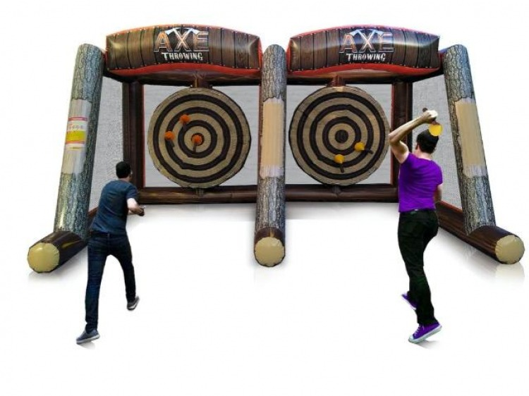 Axe Throwing Inflatable- 2 Players