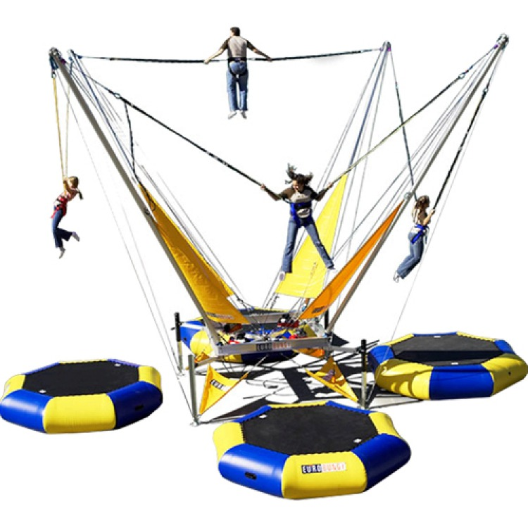 4 Station Bungee Trampolines