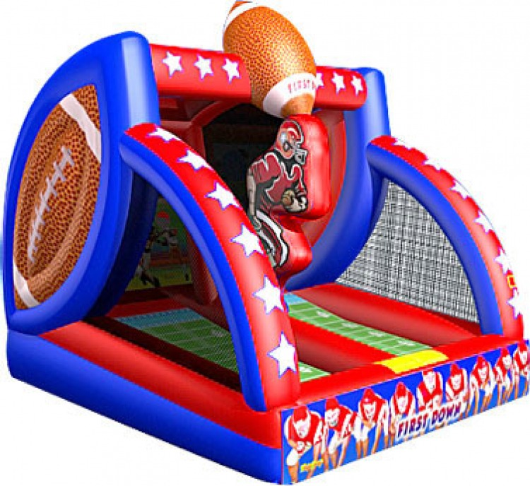 First Down-Football Toss