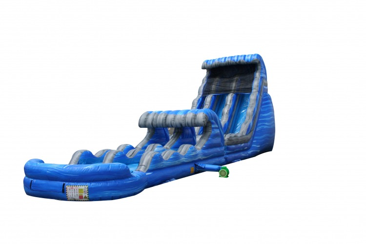 Laguna Waves Waterslide 24' Tall With Slip N' Slide