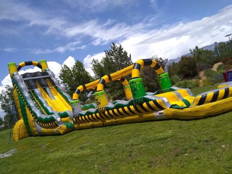 Water Slides & Water Jump/Slide Combos