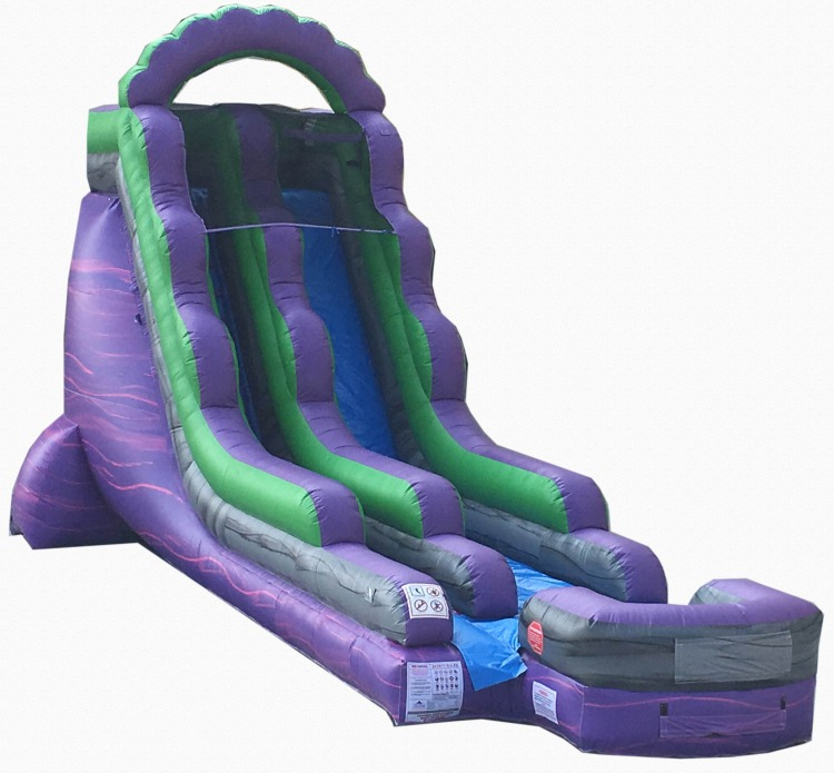 18' Purple People Eater Water Slide