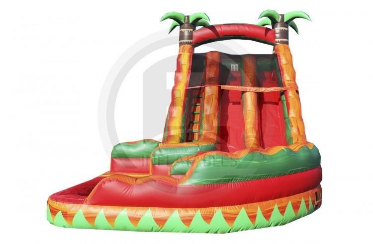 Tropical Fiesta Breeze Dual Lane Water Slide